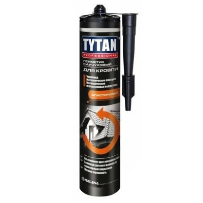Герметик кровельный Tytan Professional каучуковый коричневый (310 мл)