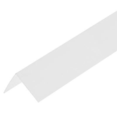 Уголок ПВХ 60х60х2700 мм белый лед
