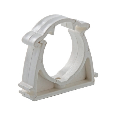 Кронштейн пластиковый с фиксатором 20 мм (упаковка 10 шт)
