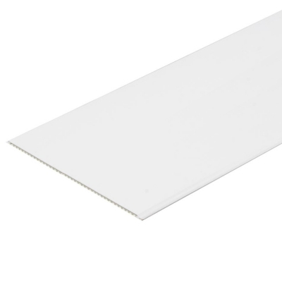 Панель ПВХ 375х3000 мм белая матовая