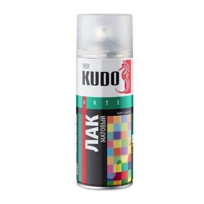 Лак универсальный акриловый KUDO матовый 520 мл/0.33 кг