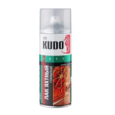 Лак яхтный универсальный алкидно-уретановый KUDO глянцевый 520 мл/0.33 кг