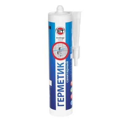 Герметик акриловый (для наружных и внутренних работ) VGT санитарный белый (400 г)