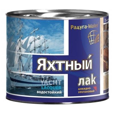 Лак яхтный алкидно-уретановый ТЛКЗ РАДУГАМАЛЕР глянцевый 2.7 л