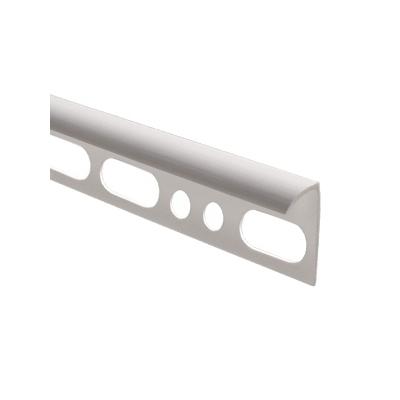 Профиль наружный для плитки 9-10 мм (2.5 м) белый
