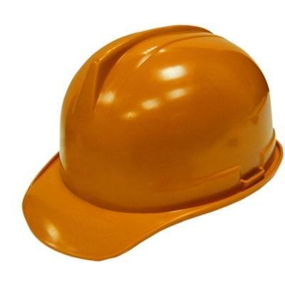 Каска строительная оранжевая BIBER