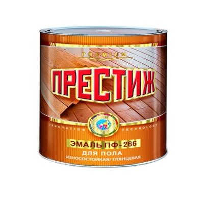 Эмаль ПФ-266 для пола Престиж желто-коричневая 1.9 кг