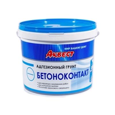 Грунт адгезионный бетоноконтакт Аквест 2Б 2.8 кг