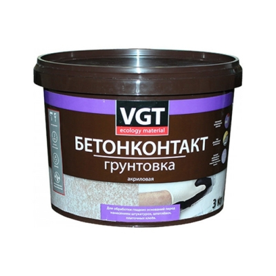 Грунт бетоноконтакт ВД-АК-0301 VGT 3 кг