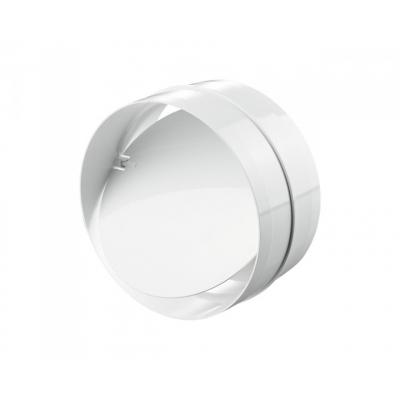 Соединитель для круглого канала с клапаном d 125 мм