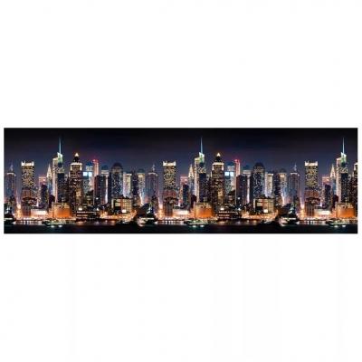 Интерьерная панель ABS город (манхэттен) 2000х600х1.5 мм