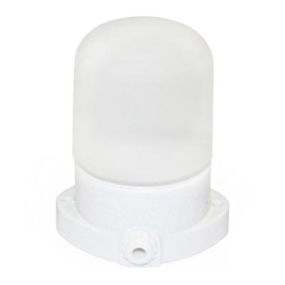 Светильник керамический настенно-потолочный для бань и саун Lindner белый