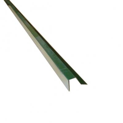 Планка для профлиста (С8) 2000 мм зелёный мох (RAL 6005)