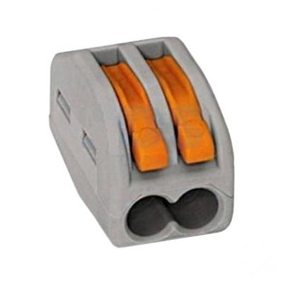 Клемма СК-412 на 2 провода 0.1-2.5 мм² (5 шт) TDM ЕLECTRIC