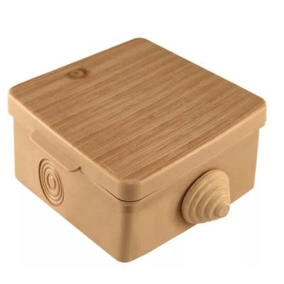 Коробка распределительная (распаячная) ОП 65х65х50 мм сосна TDM ЕLECTRIC