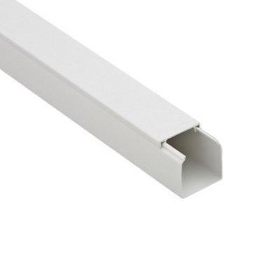 Кабель-канал 12х12 мм белый 2 м TDM ЕLECTRIC