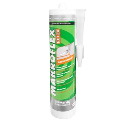 Герметик акриловый Makroflex FX130 универсальный белый (450 г)