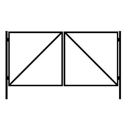 Каркас ворот 1500х3000 мм (без калитки)