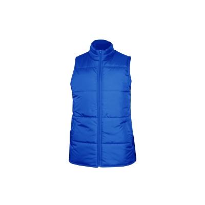 Жилет утепленный темно-синий размер 48-50