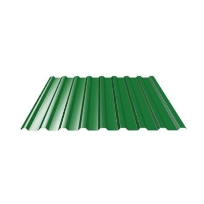 Профнастил С21 0.35 мм 1050х2000 мм зелёный мох (RAL 6005)