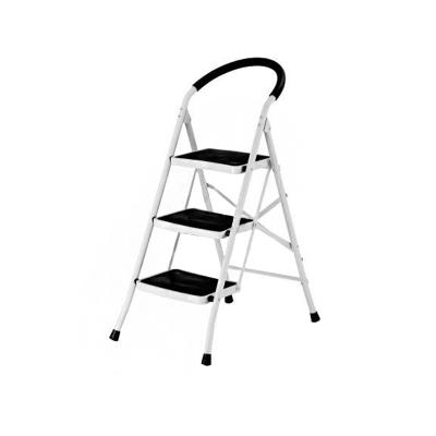 Стремянка стальная СИБИРЯЧКА (3 ступени) усиленные ножки