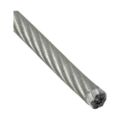 Трос стальной 3/4 мм DIN 3055 (в ПВХ оболочке) цинк