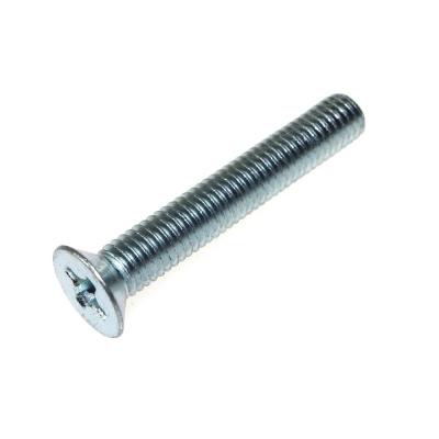 Винт М4х25 мм DIN 965 с потайной головкой нержавеющая сталь (8 шт)
