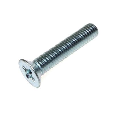 Винт М6х16 мм DIN 965 с потайной головкой нержавеющая сталь (6 шт)