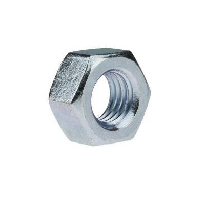 Гайка М10 шестигранная DIN 934 цинк (80 шт)