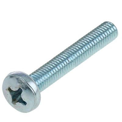 Винт М5х20 мм DIN 7985 полукруглая головка цинк (15 шт)