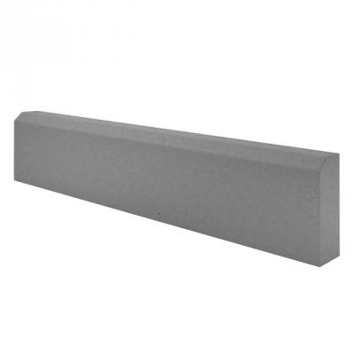 Бордюр тротуарный вибролитьевой 210х70х500 мм серый