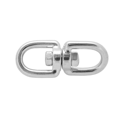 Вертлюг кольцо-кольцо 5 мм нержавеющая сталь