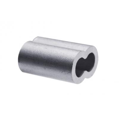 Зажим для троса (каната) 3 мм DIN 3093 алюминиевый (4 шт)