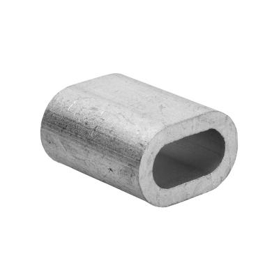 Зажим для троса (каната) 5 мм DIN 3093 алюминиевый (2 шт)
