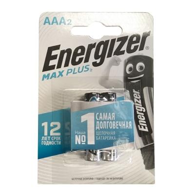 Элемент питания LR03 ААА Max Plus 1.5 В BP-2 (2 шт) Energizer