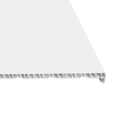 Подоконник ПВХ 400х1500х20 мм белый ПКФ-Галичи