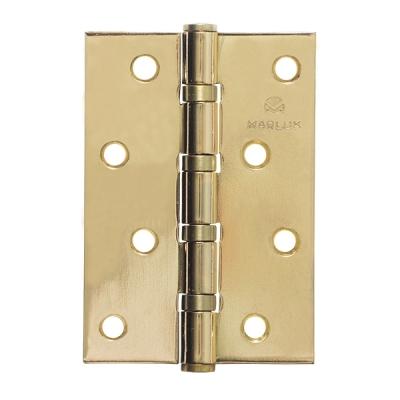 Петля дверная 100х70х2.5 мм MARLOK (золото)