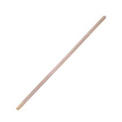 Черенок деревянный для швабр и щеток d-21 мм (с резьбой)