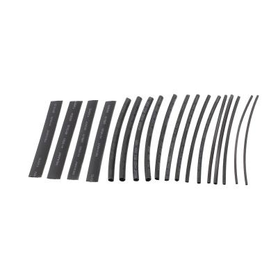 Набор термоусадки №5 (СТАНДАРТ) черный 18 шт REXANT 7 цветов 29-0105