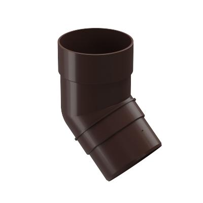 Колено 45° Döcke PREMIUM 85 мм (шоколад)