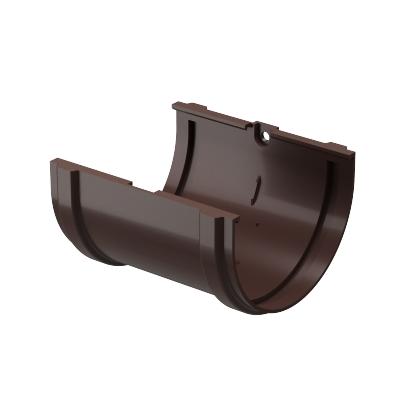 Соединитель желоба Döcke PREMIUM 120 мм (шоколад)