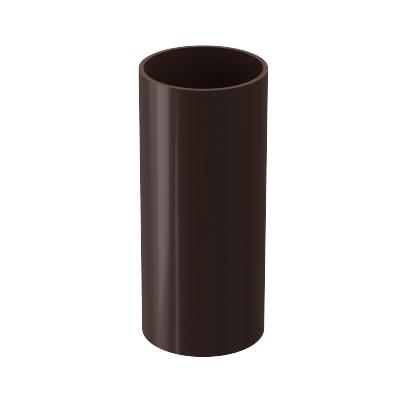 Труба водосточная Döcke PREMIUM 85 мм 3 м (шоколад)