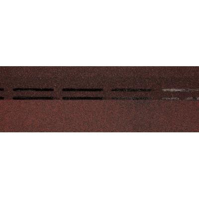 Черепица коньково-карнизная Döcke PIE SIMPLE Cота Красная 11/22 мп