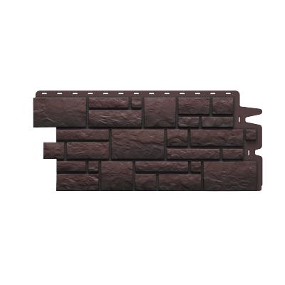 Фасадная панель Döcke BURG 472x1072 мм (темная)