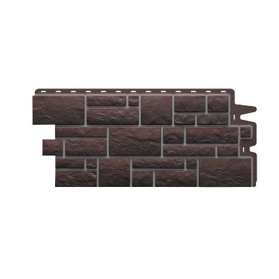Фасадная панель Döcke BURG 472x1072 мм (земляной)