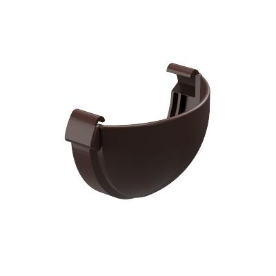 Заглушка для желоба Döcke LUX 141 мм (шоколад)
