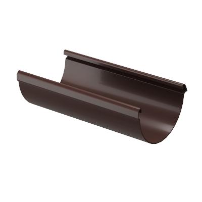 Желоб водосточный Döcke LUX 141 мм 3 м (шоколад)