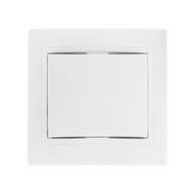 Выключатель 1-кл. белый 10 А TDM ЕLECTRIC Таймыр