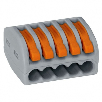 Клемма на 5 проводов СМК 222-415 0.08-4 мм² (5 шт) EKF PROxima