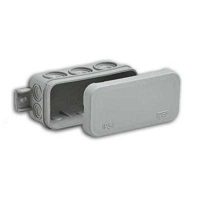 Коробка распределительная (распаячная) ОП 43х80х35 мм серая RuVinil 67091